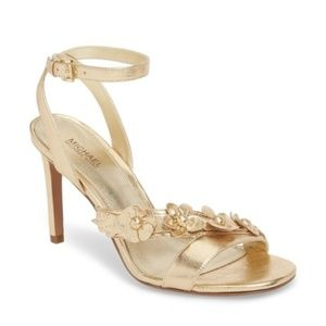 Michael Michael Kors Tricia Sandal in Gold